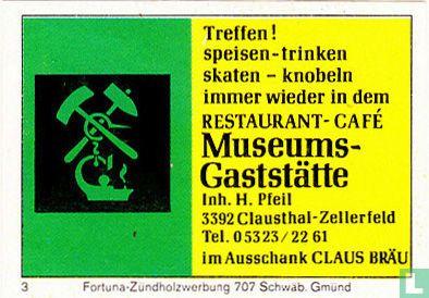 Museums Gaststätte - H. Pfeil