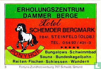 Hotel Schemder Bergmark