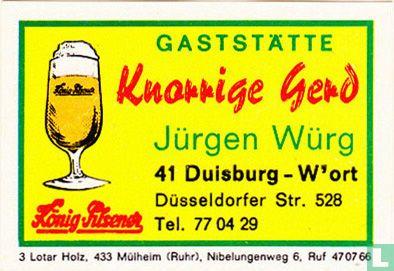 Knorrige Gerd - Jürgen Würg