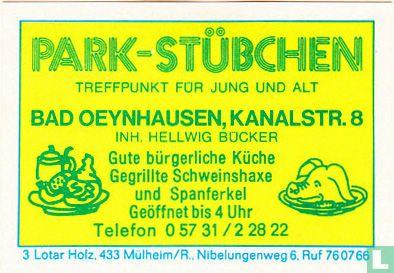 Park-stübchen - Hellwig Bücker