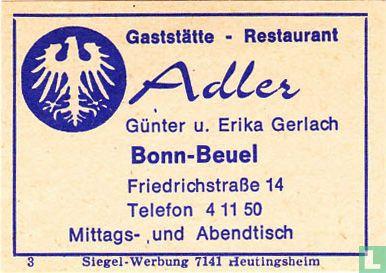 Gaststätte Adler - Günter u. Erika Gerlach