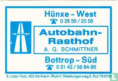 Autobahn-Rasthof - A.G. Schmittner