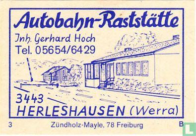Autobahn-Raststätte - Gerhard Hoch