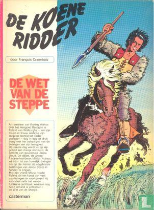 Koene Ridder, De - De wet van de steppe