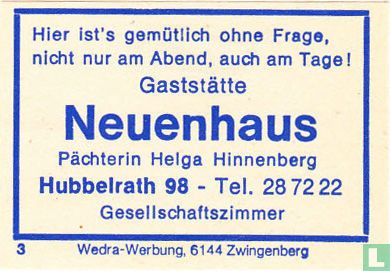 Gaststätte Neuenhaus