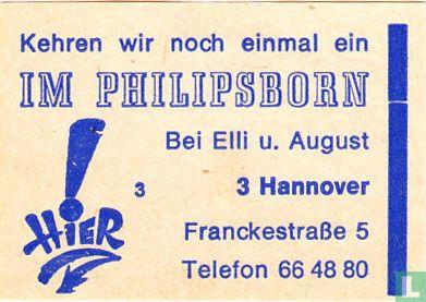 Im Philipsborn - Elli u. August