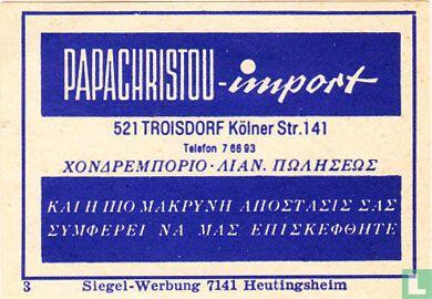 Papachristou-import