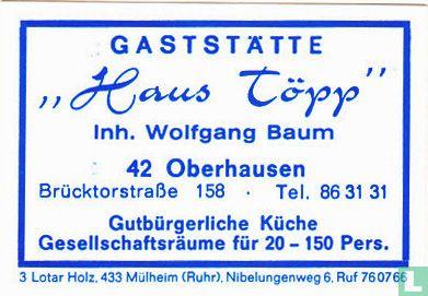 """""""Haus Töpp"""" - Wolfgang Baum"""