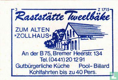 """Raststätte Tweelbäke zum alten """"Zollhaus"""""""