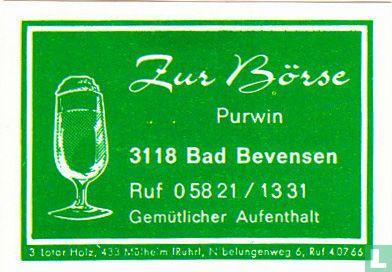 Zur Börse - Purwin