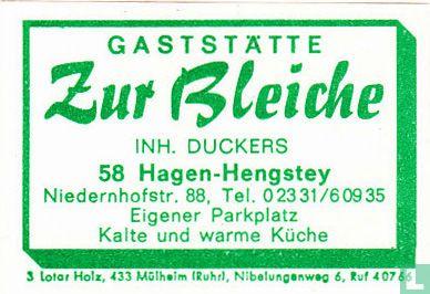 Gaststätte Zur Bleiche - Duckers