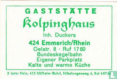 Gaststätte Kolpinghaus - Duckers
