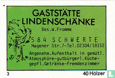 Gaststätte Lindenschänke - W. Fromme