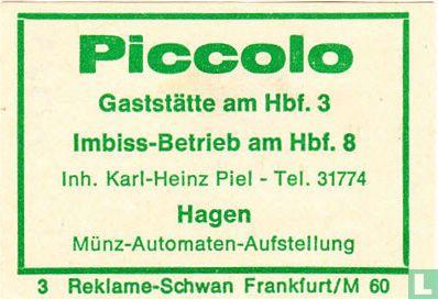 Piccolo Gaststätte - Karl-Heinz Piel