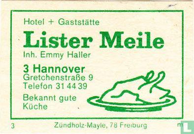 Lister Meile - Emmy Haller