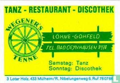 Wegener's Tenne