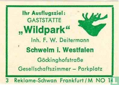 """Gaststätte """"Wildpark"""" - F.W. Deitermann"""