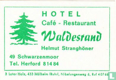 Waldesrand - Helmut Stranghöner