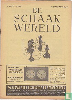 De Schaakwereld 5 - Image 1