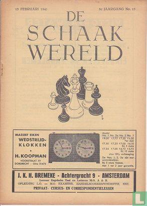 De Schaakwereld 15 - Image 1