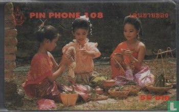 Telephone Organization of Thailand - Girls with Food