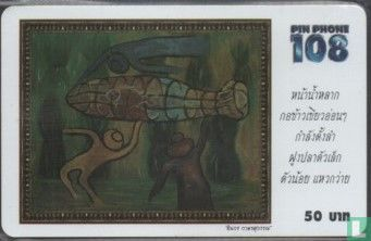 Telephone Organization of Thailand - Painting 1