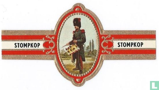 Stompkop - Regiment der genie, tamboer