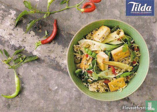 Promotiekaarten - DB160007 - Tilda 'Tofu Fried Rice'