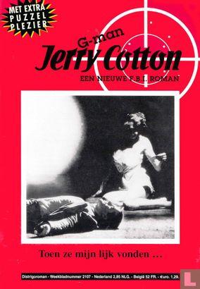 G-man Jerry Cotton 2107