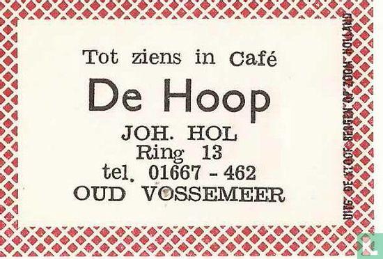 Café De Hoop