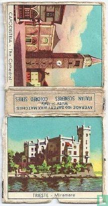 Trieste - Miramare ; Capodistria - Kathedraal - Image 1