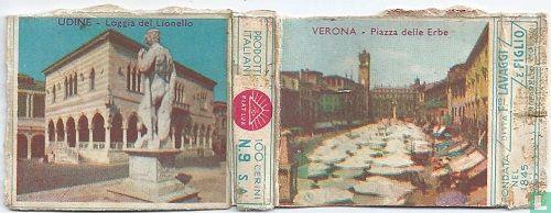 Udine -Loggia del Lionello ; Verona - Piazza delle Erbe - Image 1