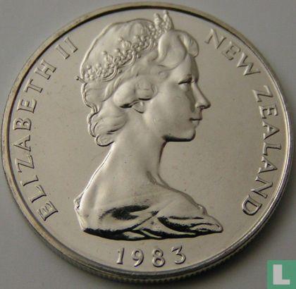 New Zealand 10 cents 1983 - Image 1