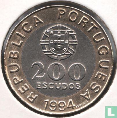"Portugal - Portugal 200 escudos 1994 ""Lisbon - European Cultural Capital"""