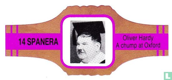 Spanera - Oliver Hardy A chump at Oxford
