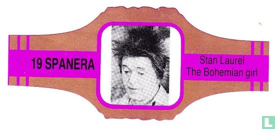 Spanera - Stan Laurel The Bohemian Girl