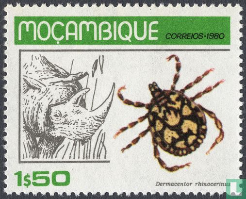 Mozambique - Ticks and their host animals