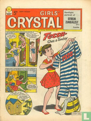 Cherry and the Children - Girls' Crystal 27