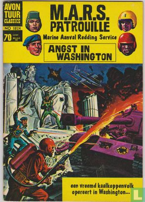 M.A.R.S. patrouille - Angst in Washington