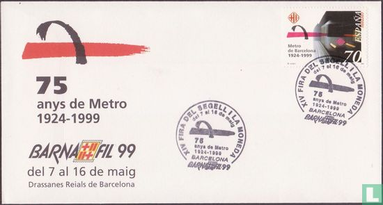 Spanje [ESP] - 75 jaar Metro in Barcelona