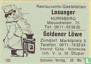 Losunger - Goldener Löwe