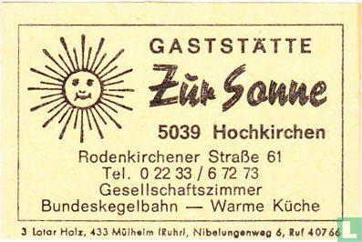 Gaststätte Zur Sonne
