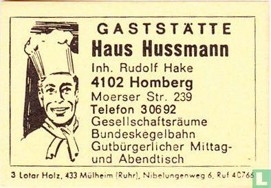 Haus Hussmann - Rudolf Hake