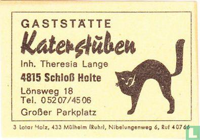 Gaststätte Katerstüben - Theresia Lange
