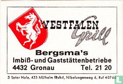 Westfalen Grill - Bergsma's - Image 1