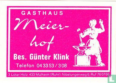 Gasthaus Meierhof - Günter Klink