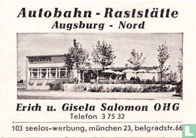 Autobahn Raststätte - Erich u. Gisela Salomon