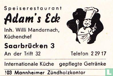 Adam's Eck - Willi Mandernach