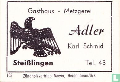 Gasthaus Adler - Karl Schmid