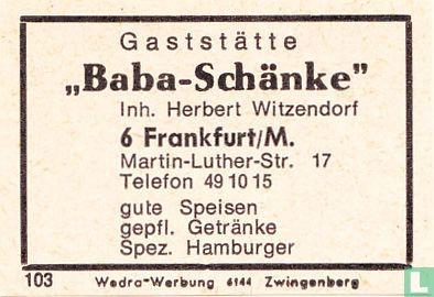 """""""Baba-Schänke"""" - Herbert Witzendorf"""
